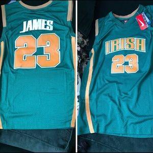 Lebron James high school jersey